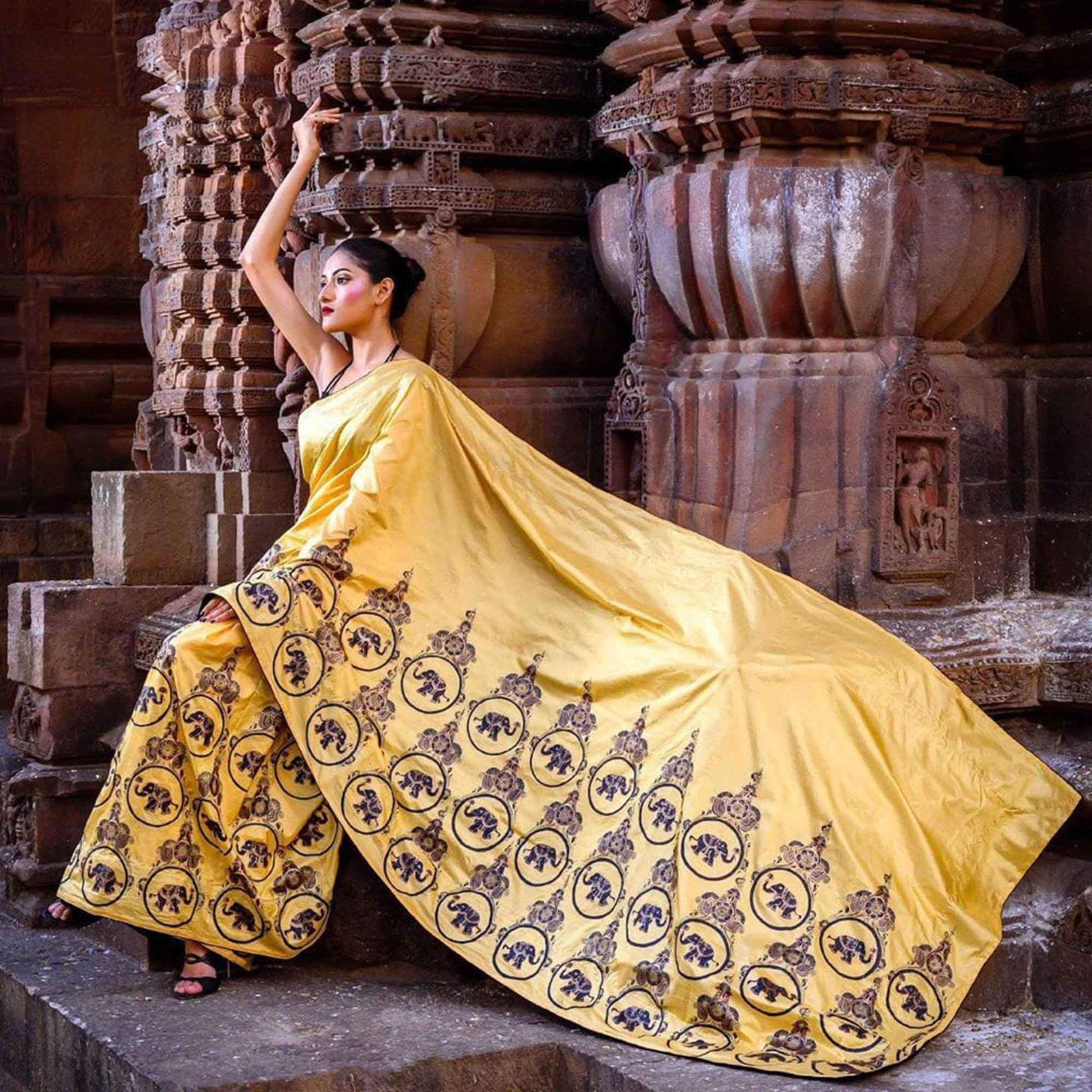 Patachitra Saree Bhubaneswar Fashion Blog Odisha
